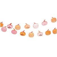 Paper Poetry Girlande Halloween Kürbis 3m