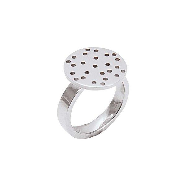 Rico Design Ring mit Sieb Edelstahl 17mm