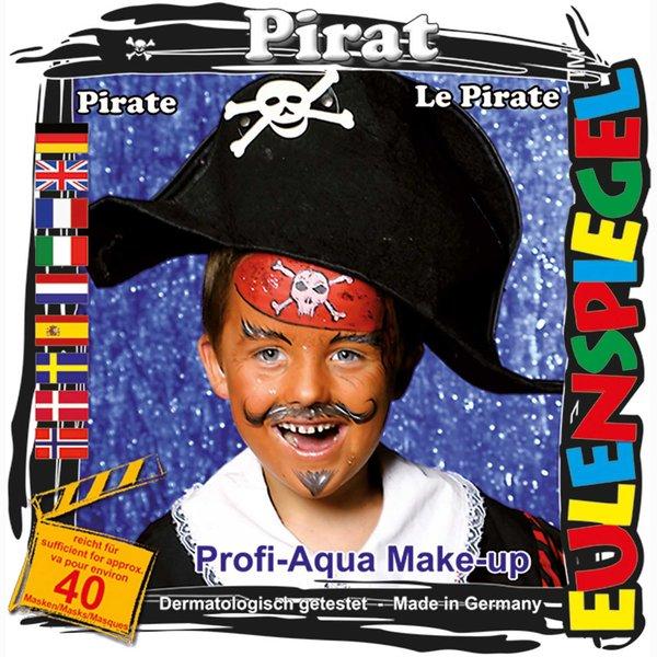 Eulenspiegel Schmink Set Pirat
