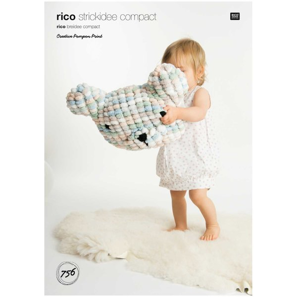 Rico Design Strickidee compact Nr.756 Pompon Print
