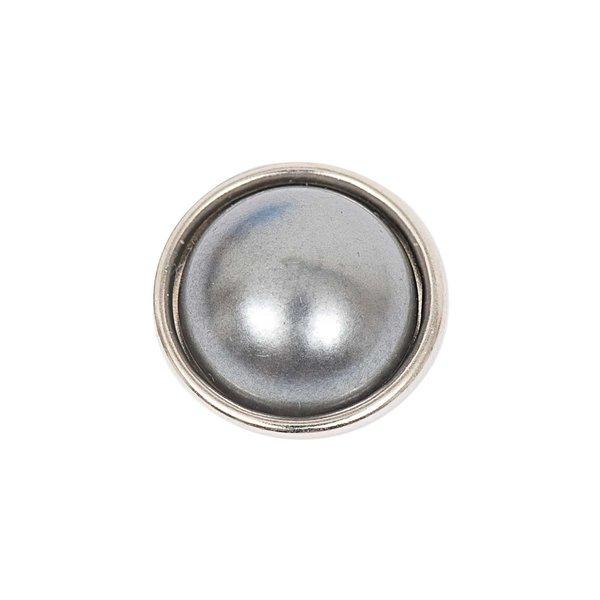 Rico Design Knopf Perle grau 14mm