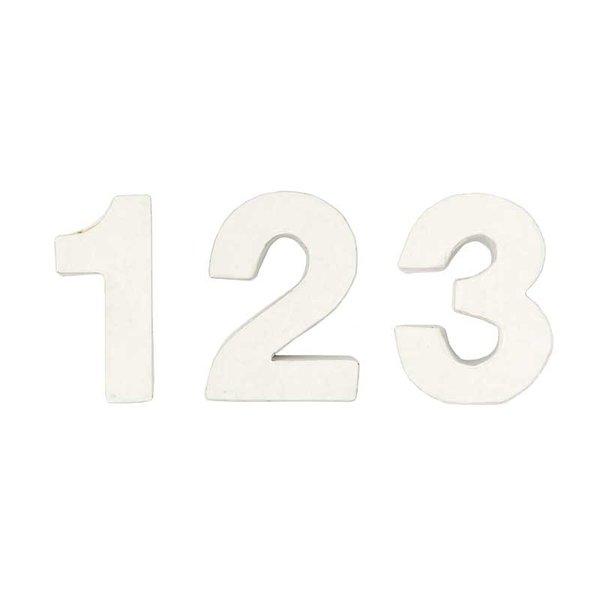 Rico Design 3D Pappzahl 7x2,5cm