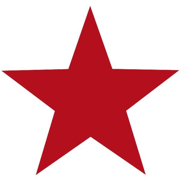 Rico Design Appliqué Stern rot 8x8cm