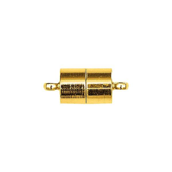 Jewellery Made by Me Magnetverschluß länglich gold 11mm