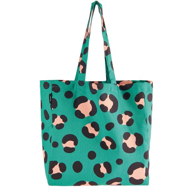 Rico Design Canvasshopper Acid Leo petrol 38x40x13cm