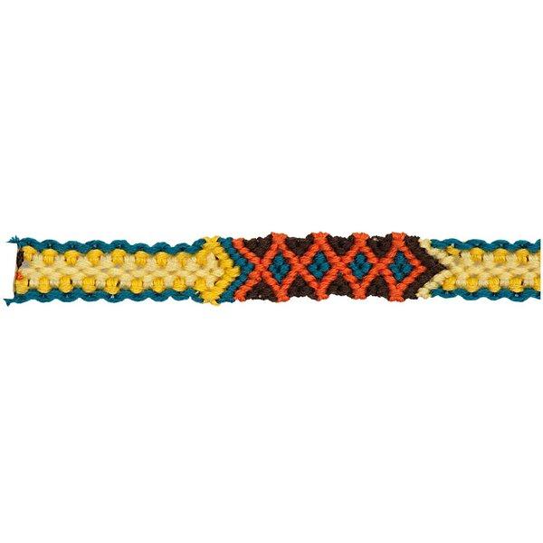 Rico Design Freundschaftsband geflochten mehrfarbig M/L 10x180mm