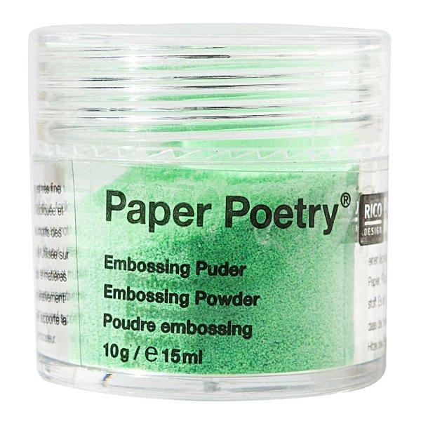 Paper Poetry Embossingpuder neongrün 10g