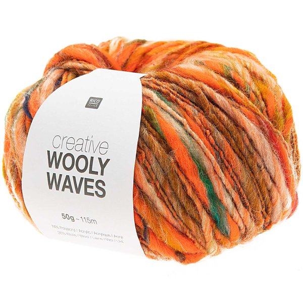 Rico Design Creative Wooly Waves 50g 115m