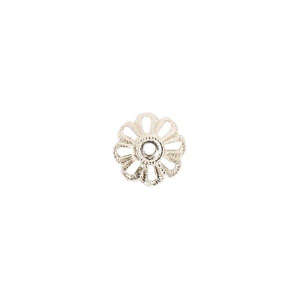 Jewellery Made by Me Perlkappe silber 6mm 10 Stück