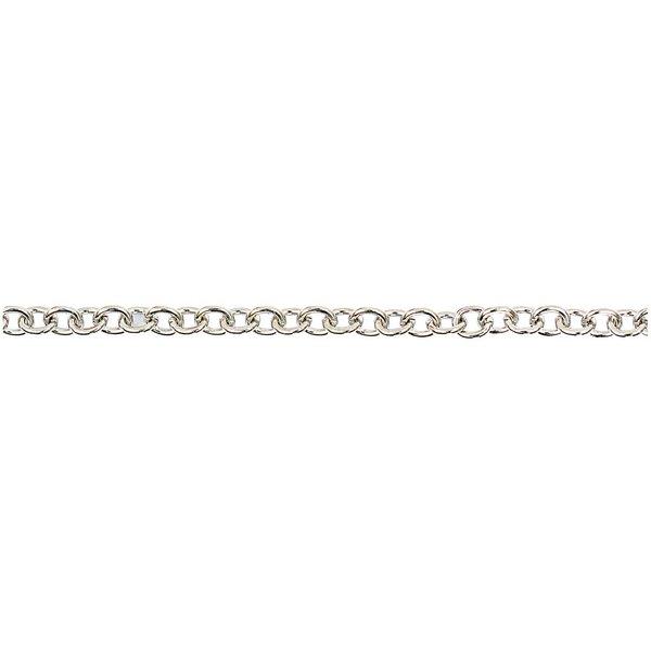 Jewellery Made by Me Gliederkette dunkelsilber 7-8mm 1m