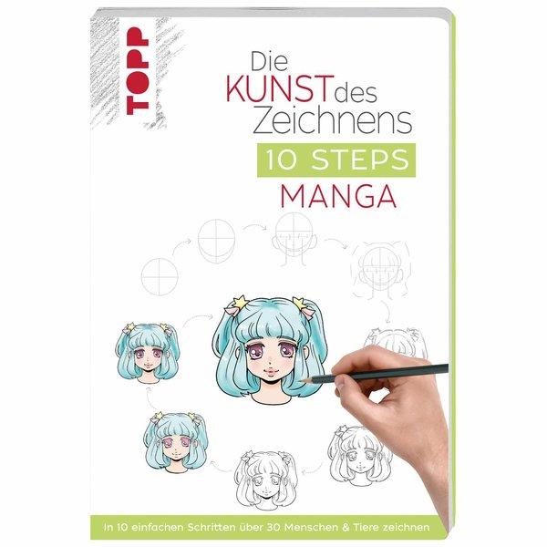 TOPP Die Kunst des Zeichnens 10 Steps - Manga