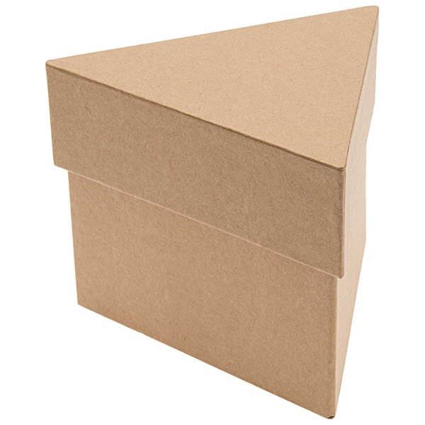 Rico Design Pappbox dreieckig groß 16x16x12,5cm