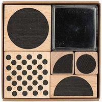 Paper Poetry Stempelset geometrische Symbole rund 8x8cm