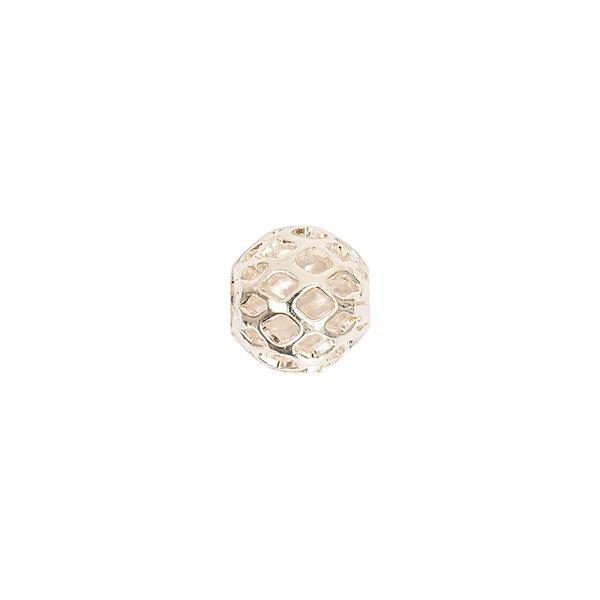Jewellery Made by Me Filigranperle silber 8mm 2 Stück