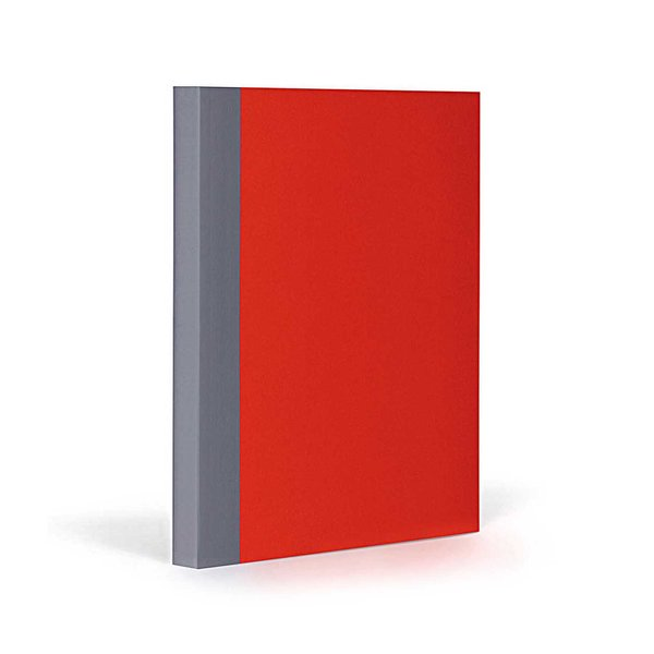 FANTASTICPAPER Notizbuch A5 kariert cherry-grey