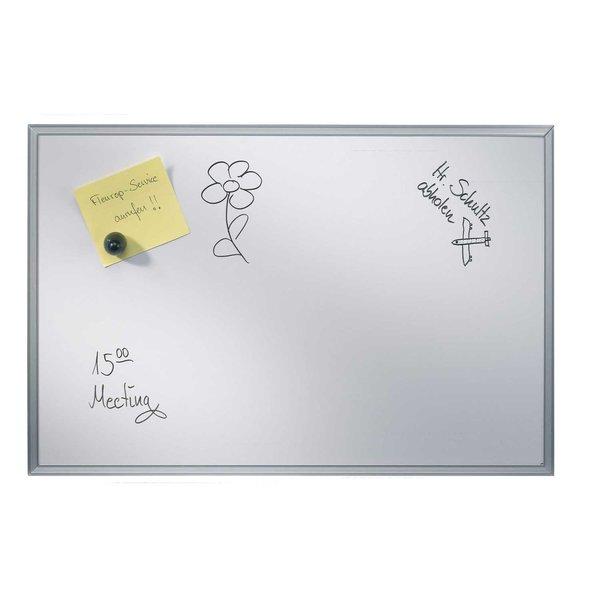 RUMOLD Whiteboard magnetisch silber 30x45cm