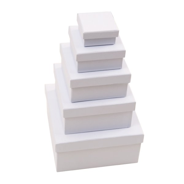 Rico Design Quadratbox weiß