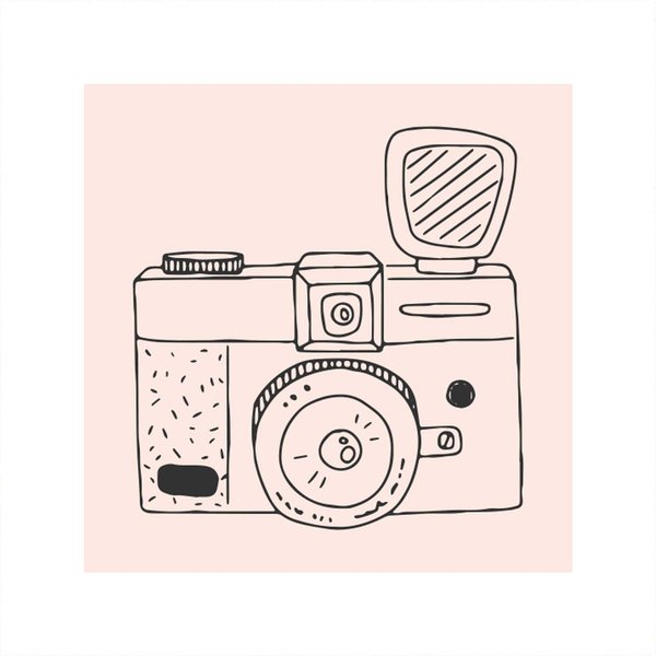 May&Berry Stempel Fotoapparat 45x45mm