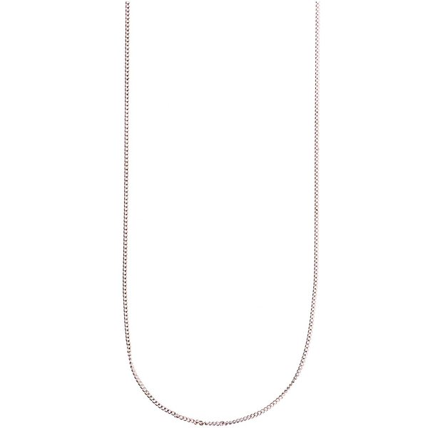 Mix it Up - Jewellery Gliederkette silber 65cm