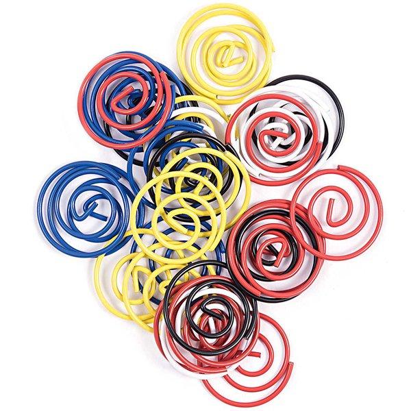 Paper Poetry Büroklammern Kreise 80ies 30 Stück