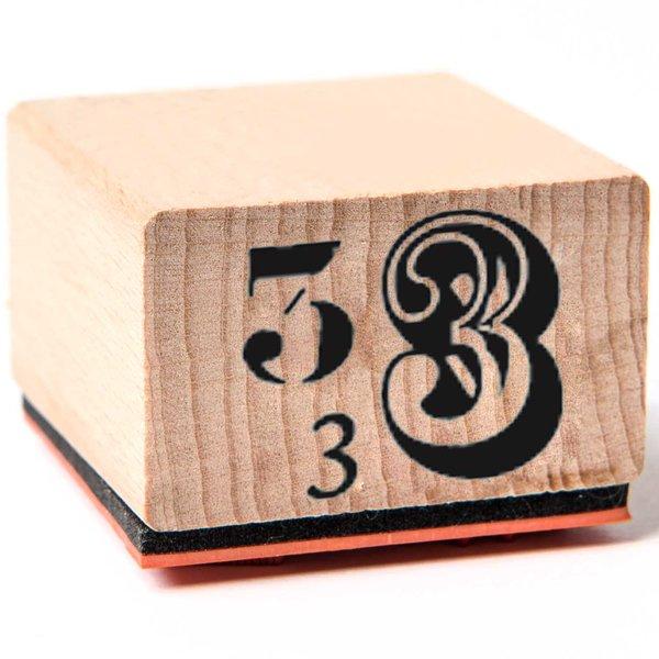 Rico Design Stempel 3 3,5x3,5cm