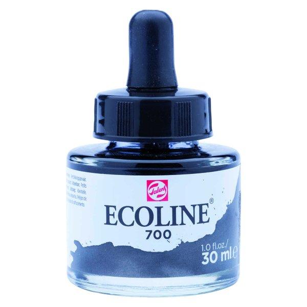 ECOLINE flüssige Wasserfarbe schwarz 30ml
