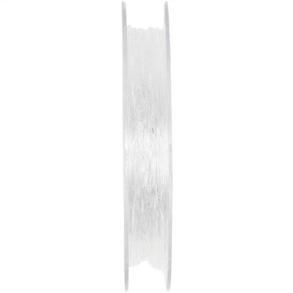 Jewellery Made by Me Perlonfaden elastisch transparent 0,8mm