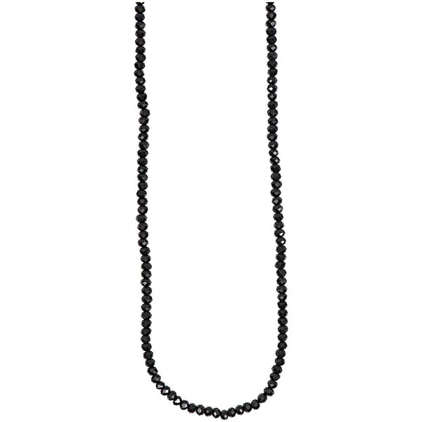 Rico Design Glasschliffkette schwarz 70cm