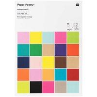 Paper Poetry Bastelblock Super Multi Colours A3 20 Blatt