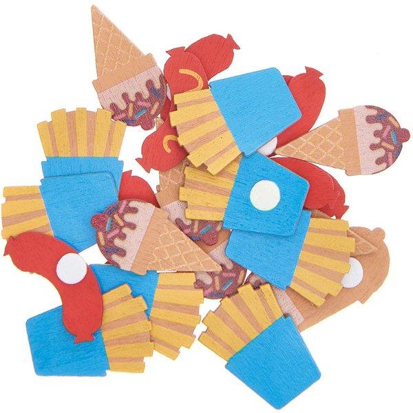 Ohhh! Lovely! Holzsticker Snack Mix 24 Stück