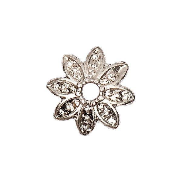 Jewellery Made by Me Perlkappe Blume 15x4mm 2 Stück