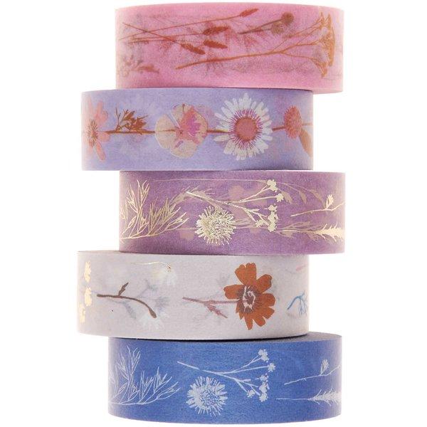 Paper Poetry Tape Set Trockenblumen 5teilig