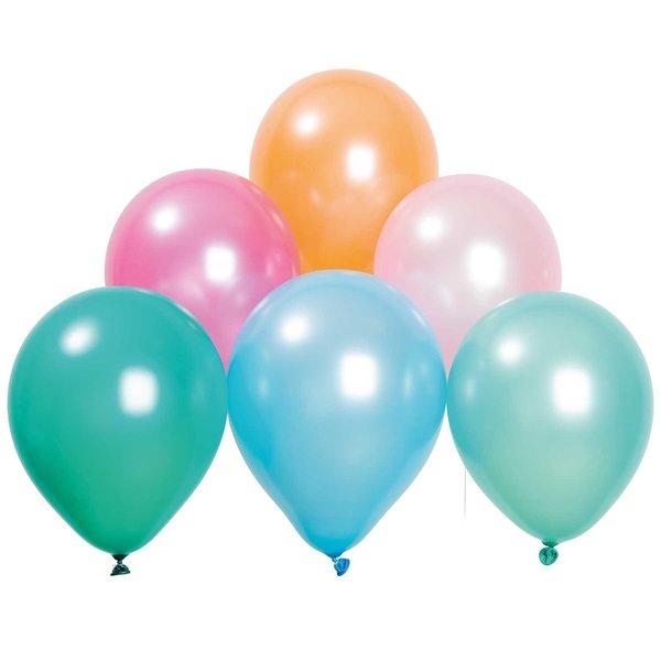 YEY! Let's Party Luftballon Mix pastell matt 30cm 12 Stück