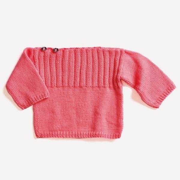 Strickset Pullover Modell 03 aus Baby Nr. 31