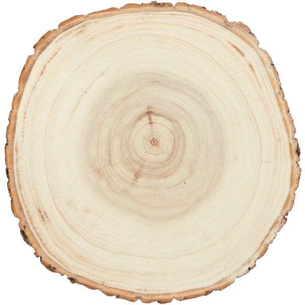 Rico Design Holzscheibe groß Ø16-19cm 1,5cm dick