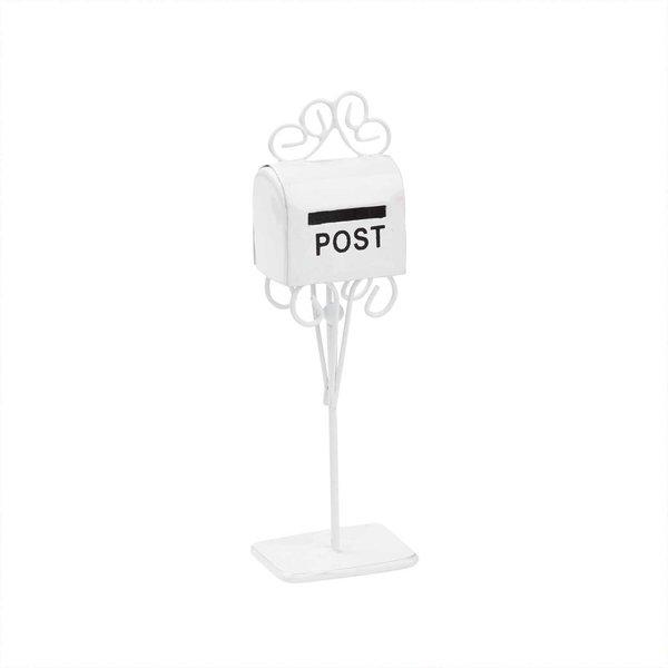 Hobby Fun Briefkasten weiß 11cm