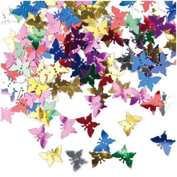 Rico Design Flitter Streu Schmetterling 7g
