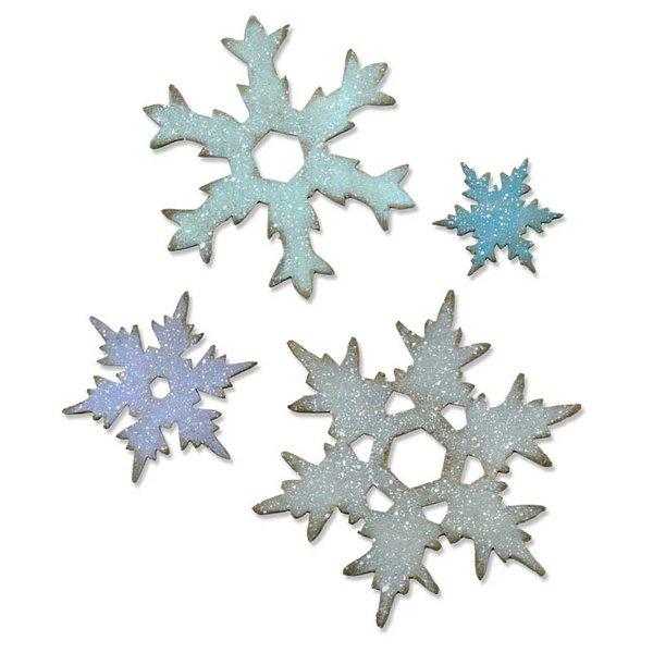 Sizzix Bigz L Die Stacked Snowflakes by Tim Holtz