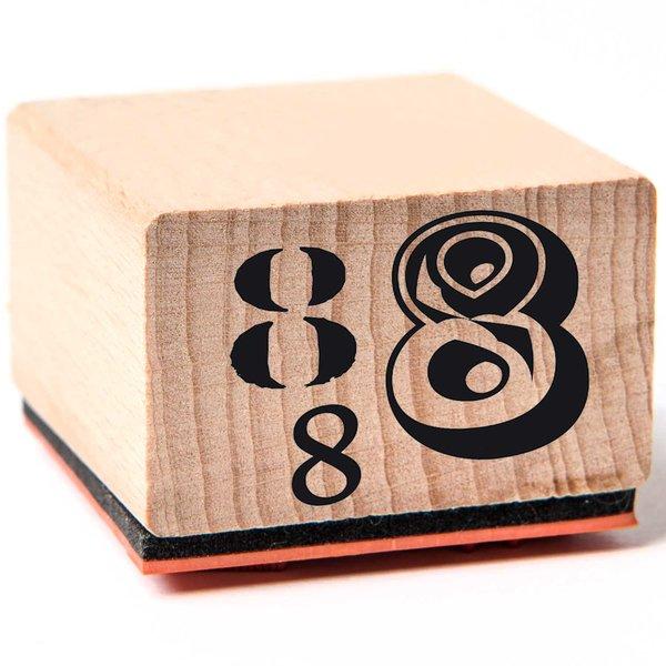 Rico Design Stempel 8 3,5x3,5cm