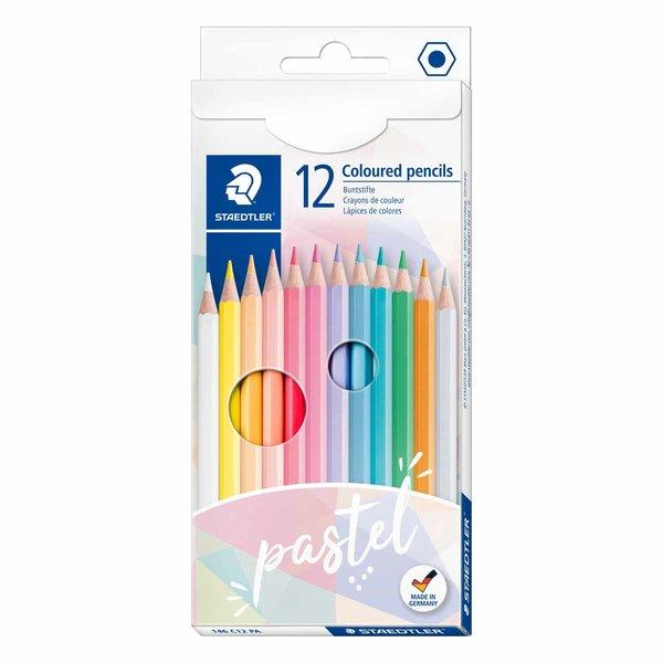 STAEDTLER 146 Buntstifte Pastell 12 Stück