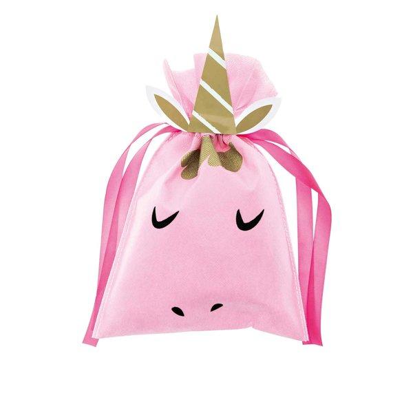 Paper Poetry Geschenktüte Einhorn rosa 20x30cm