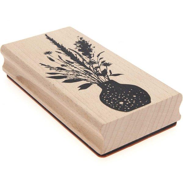 Paper Poetry Stempel Blumenstrauß 6x12cm
