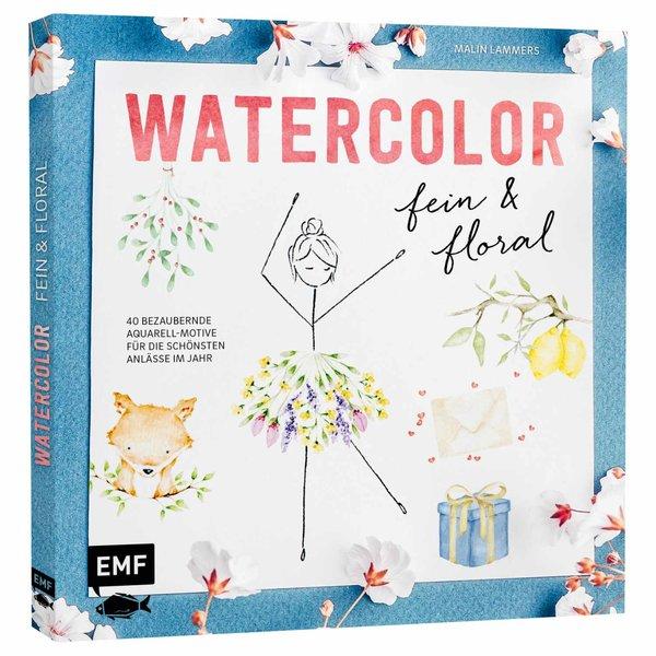 EMF Watercolor fein und floral