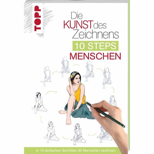 TOPP Die Kunst des Zeichnens 10 Steps: Menschen
