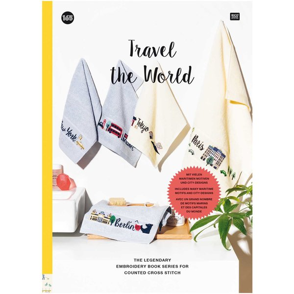 Rico Design Stickbuch Travel the World Nr. 165