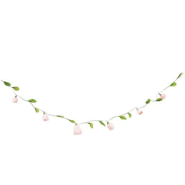 Ohhh! Lovely! Papierblumen Girlande klein pink 160 cm