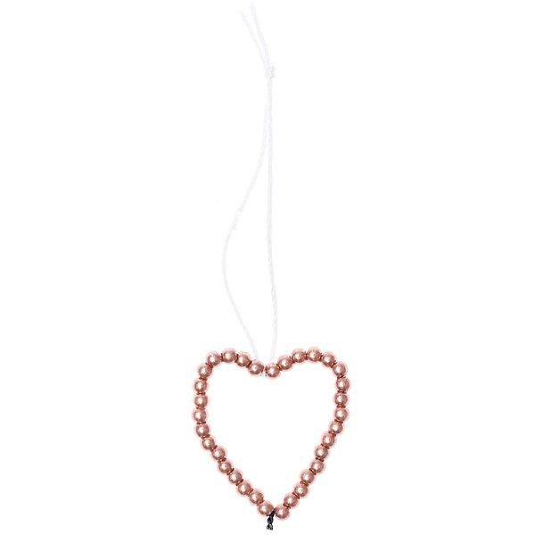 Ohhh! Lovely! Perlenhänger Herz klein rosegold