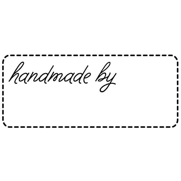 Rico Design Stempel handmade by 4x2cm