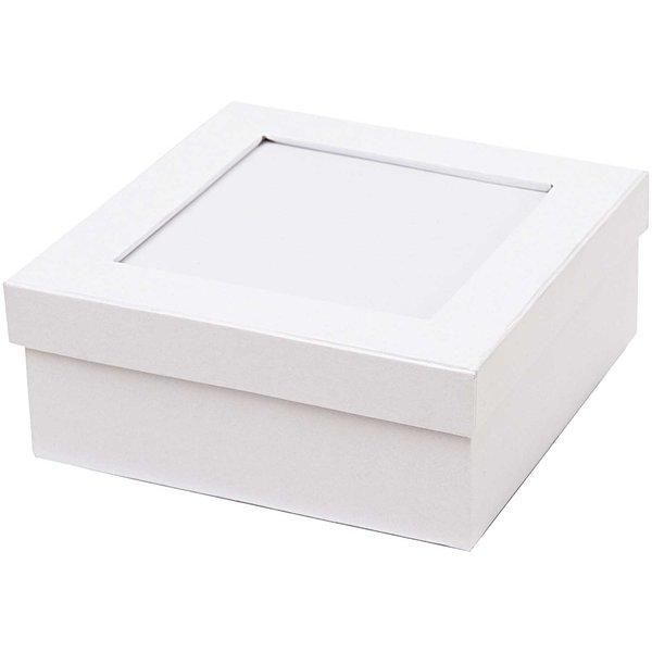 Rico Design Mosaikbox weiß 20x15x6cm