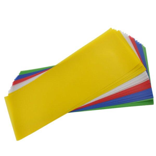 MARPA JANSEN Laternenzuschnitte Transparentpapier mehrfarbig 25 Bogen